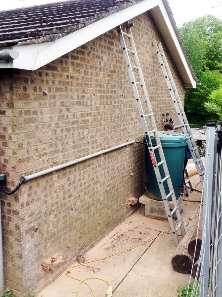 Cavity Wall Insulation Extraction process
